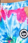 Men's Tie Dye Crest Track Pants 4